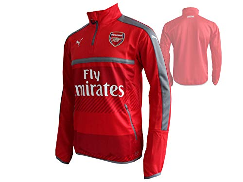PUMA AFC Sweat-Shirt Homme High Risk Red/Steel Gray FR : M (Taille Fabricant : M)
