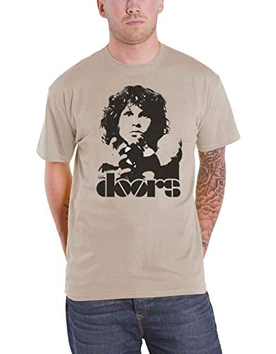 The Doors Break On Through Official Mens New Brown T Shirt