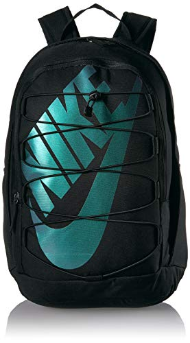 Nike NK Hayward BKPK - 2.0 Sports Backpack, Black/Metallic Silver, 45 cm