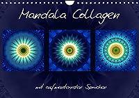 Mandala Collagen mit aufmunternden Spruechen (Wandkalender 2022 DIN A4 quer): Farbharmonische Mandala Collagen (Monatskalender, 14 Seiten )