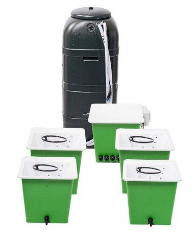 La trousse de culture hydroponque Green Man System 4 - Maceta