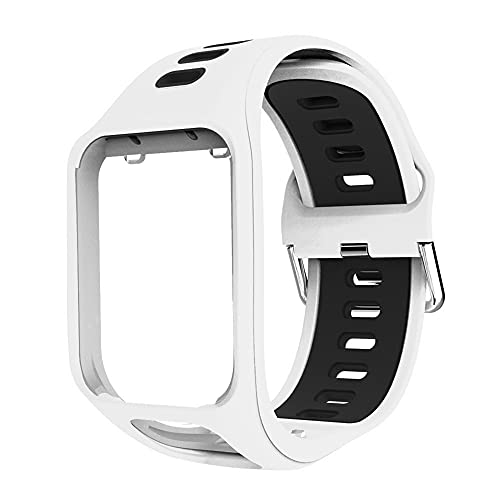 OUSMIN Watch Strap Replacement For TomTom Golfer 2 Spark 3 Runner 2 Runner 3 Adventurer Series, Comfy Wirst Band Professional Porous Design Lagre Watch Band Bracelet
