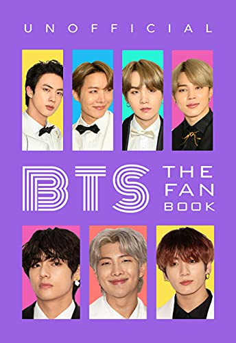 BTS: The Fan Book: 100+ BTS Facts, Photo + More (Celebrity Books for Kids) (English Edition)