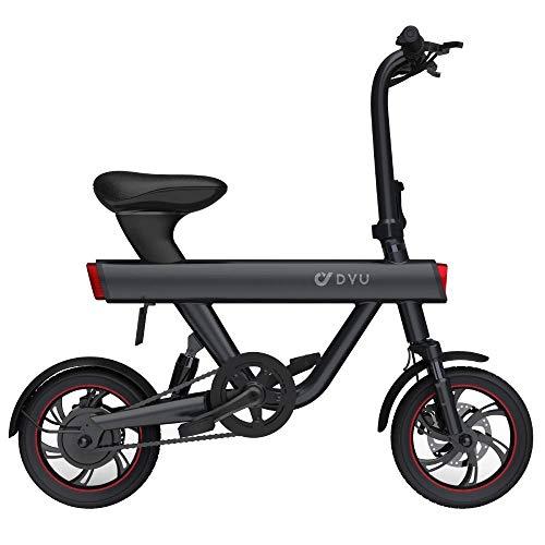 F-wheel DYU Smart Electric Bike V1 - Bicicleta eléctrica, diseño minimalista