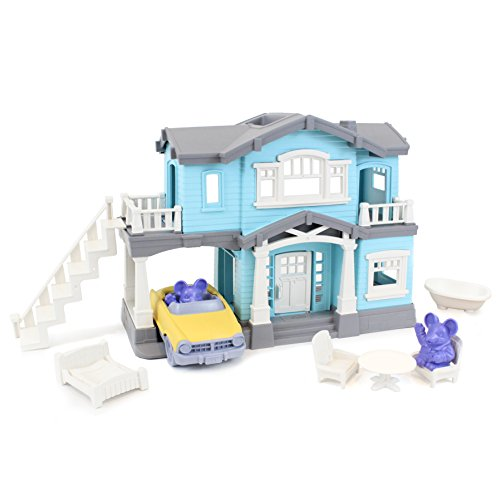 Green Toys House Playset, Blue