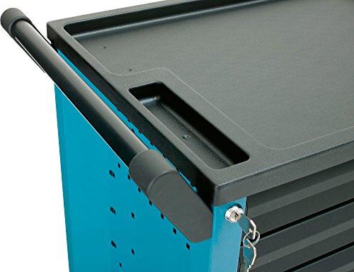 HAZET Werkstattwagen Assistent (4 flache und 2 hohe Schubladen, Traglast pro Schublade 20 kg, Gesamttragkraft (statisch): 300kg) 177-6 - 5