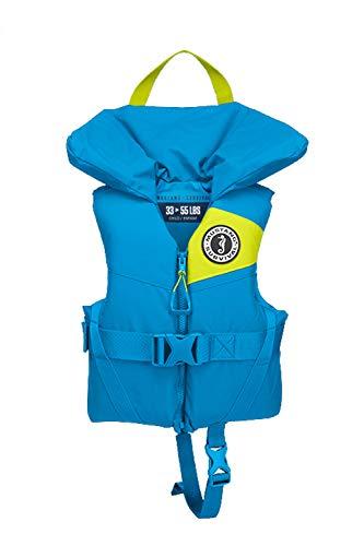 Mustang Survival - Child Foam PFD - Azure Blue, Child (33 lbs - 55 lbs)