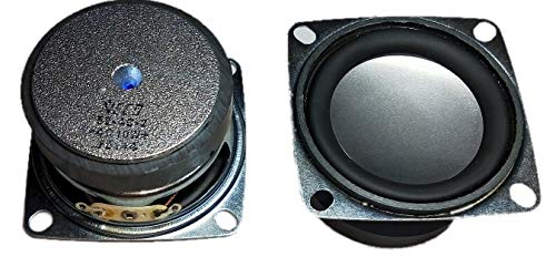 Quality 2 Inch Speaker 4 Ohm 10 Watt with Heavy Magnet (Pack of 2 Speaker)