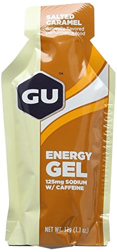 GU Salted Caramel Flavour Energy Gels - Box of 24