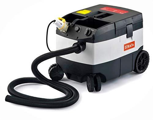 Qtech EDXDW50/110 Strata DW50-Aspirapolvere Portatile Bagnato/Asciutto, 1200 W, 4000 l/min, 110 V/60 Hz, Grigio/Nero