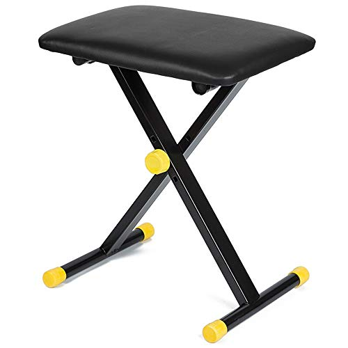 Read About Wagsuyun Piano Bench Piano Stool X-Shaped Folding Piano Stool Adjustable Lifting Piano Be...