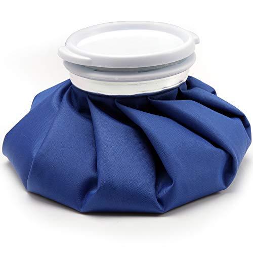 アイシングバッグ 結露なし アイスバッグ 大口径 水漏れ防止 熱中症 ケガ 応急処置 腫れ 痛み 軽減 家庭常備品 S/M/L (青-S)