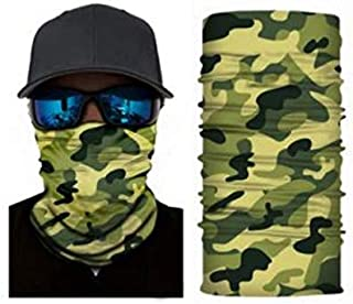 LGL Party Bandana Face Shield Mask Headwear Fishing Biker Neck Tube Scarf Skull Head
