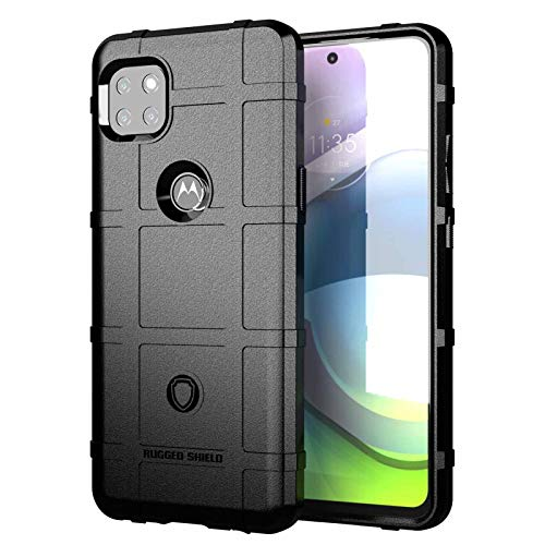 KERUN Funda para Motorola Moto G 5G Teléfono móvil, [Resistente a los arañazos], [Silicona Fina], [TPU Suave], Funda Protectora Duradera para Smartphone. Negro
