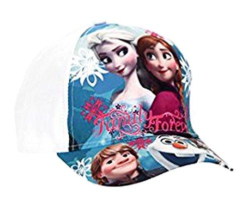 Frozen Die Eiskönigin Baseball Cap Kappe Schirmmütze (52, Weiß 2)