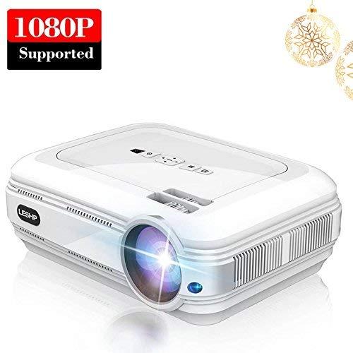 Vidéoprojecteur Full HD, LESHP Rétroprojecteur 3200 Lumens, Supporte...