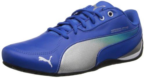 Price comparison product image PUMA Men's Drift Cat 5 Mercedes NM Fashion Sneaker, Victoria Blue / Silver Metallic, 10.5 M US