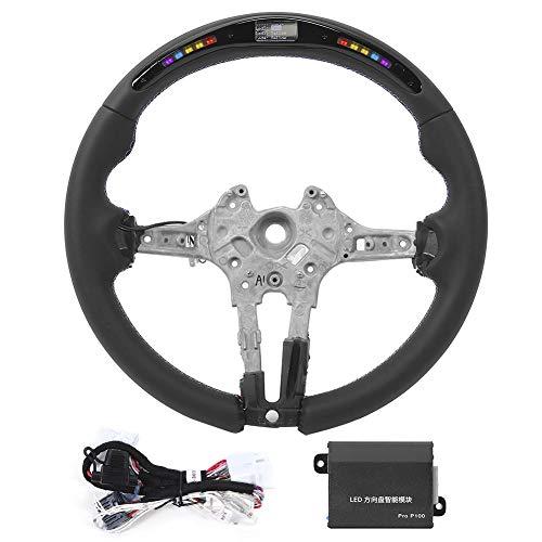 Lenkrad, für M Performance Nappaleder LED Race Digitalanzeige Lenkrad Passend für M3 F80 M4 M2 F20 F22 F30 F32 M Sport 2013-2020