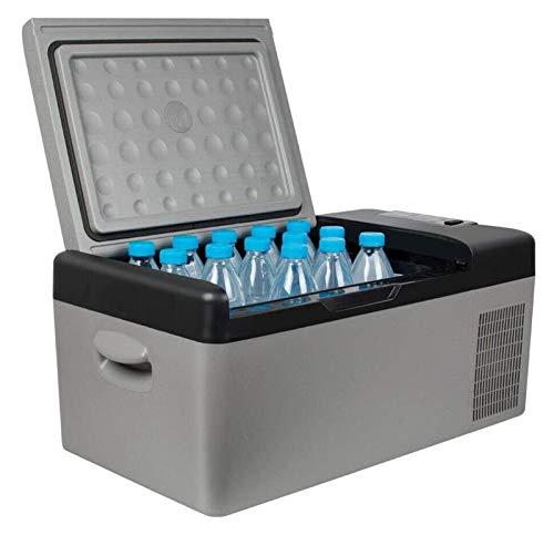 SHUHANG Refrigerador de automóviles Viaje portátil eléctrico 12V 24V AC 110V-220V Congelador de automóvil Frigorífico Refrigerador 15L Cooler Camping (Size : 22.4x12.6x10.2in)