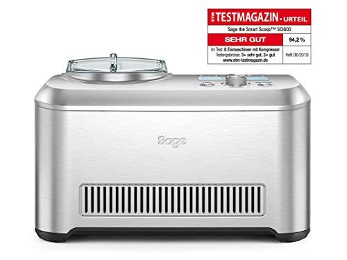 SAGE SCI600 the Smart Scoop Eismaschine mit Härtegradeinstellungen, 1 Liter Kapazität