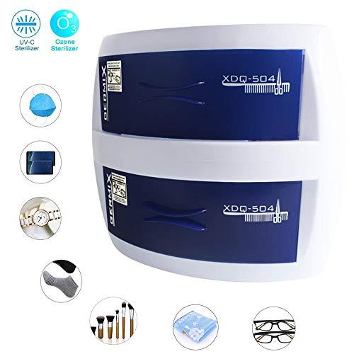 Ozon-desinfectiekast met dubbele laag, draagbaar, multifunctioneel, sterilisator voor virussen en bacteriën, voor schoonheidssalon, maskers, kleding enz.