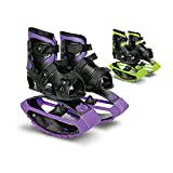 New Bounce Jumping Shoes - Kangaroo Jumping Shoes for Kids - Exercise Bouncing Moon Shoes - One Size Fits All (Purple)