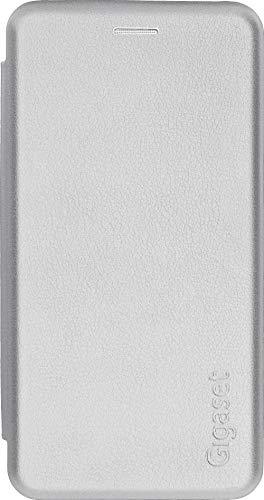 Gigaset - Funda Tipo Libro para GS290 – Accesorios Originales para Evitar daños, antiarañazos, Carcasa Completa – 360 ° – Funda Protectora Completa – Color Blanco Perla