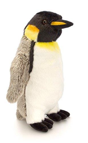 Lashuma Plüschtier Pinguin Grau - Weiß, Kaiser Plüschpinguin Keel Toys Kuscheltier Vogel 20 cm