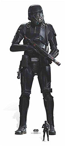 empireposter Star Wars - Rogue One - Deathtrooper Pappaufsteller Standy - ca 177 cm