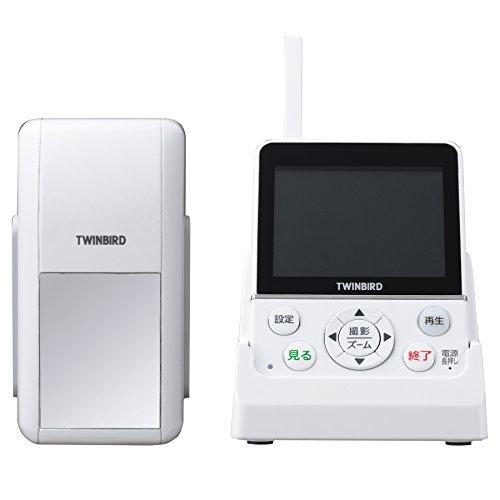 TWINBIRD ワイヤレス・ドアスコープモニター DoNaTa(ドナタ) ホワイト VC-J560W