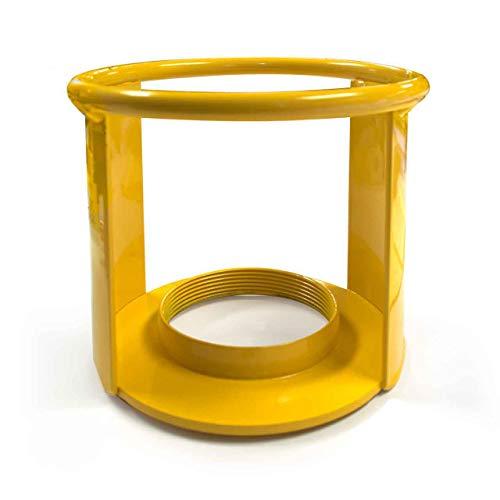 Acetylene Cylinder Regulator Protector Safety Cap 3-1/2 x 12, Fine Thread