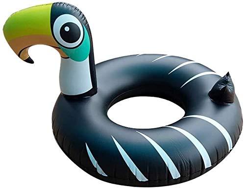 Lanxing Planschbecken für Kinder Schwimmen-Ring Pool Floats for Erwachsene und Kinder, aufblasbare Obst Schwimmen Schlauch 41,7 '' Toy 106x106x75 cm Schwimmen Schwimmer Lifebuoy