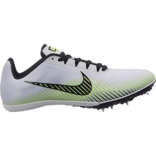 Nike Womens Zoom Rival M 9 Track and Field Shoes (Grey/Volt/8 B (M) US)