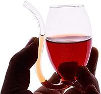 リスガラスウイスキーグラス、透明ガラス吸血鬼ワイングラス、わらガラス、ワイングラスジュースガラスグラスグラスガラス (Color : 100ML)