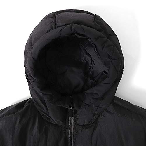 StoneIslandストーンアイランド胸ロゴナイロンメタルフード付きダウンジャケット711540532メンズ【L-Black(0029)】