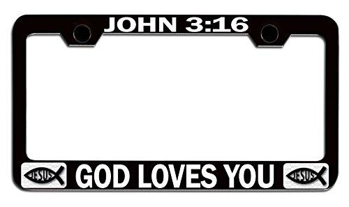 Love Jesus License Plate - 9