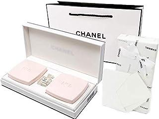 CHANEL LES CADEAUX N°5 GIFT COLLECTION シャネル N°5 ギフトコレクション N°5 サヴォン(石けん)75gX2 N°5 L'EAU(ロー)EDT1.5mlX1 CHANEL GIFT BOX・ラッピング...