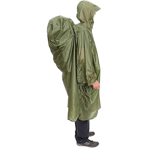 Exped Pack Poncho UL S Green