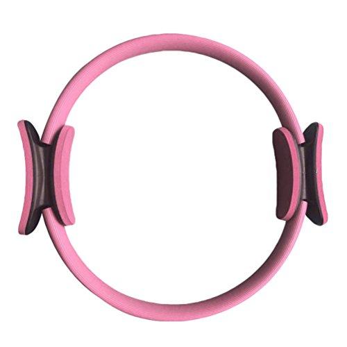"""TenYid Anillo de Pilates - Aro de Pilates de Entrenamiento de Resistencia de Aptitud de Yoga Equipos de Fitness - Diámetro: 40CM/15.7"""""""