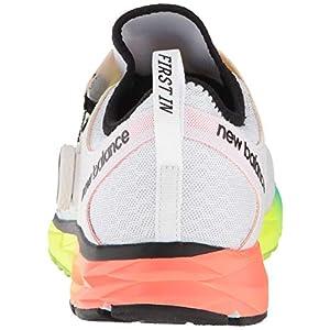 New Balance Men's 1500 V4 Boa Running Shoe, White/Multicolor, 1.5 D US