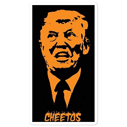 ZanzibarLand Donald Trump Orange Dotard Cheetos Sticker