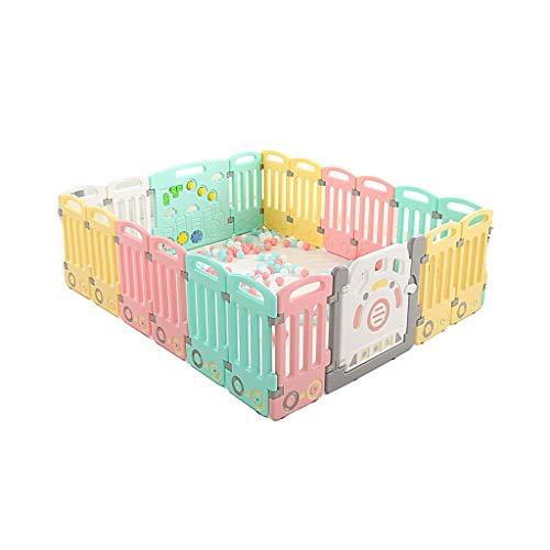 LIUFS-Clôture Barrière pour enfants Sécurité Jouets Enfant Fille Ramper Mat Candy Sécurité (taille : 18+2 fence)