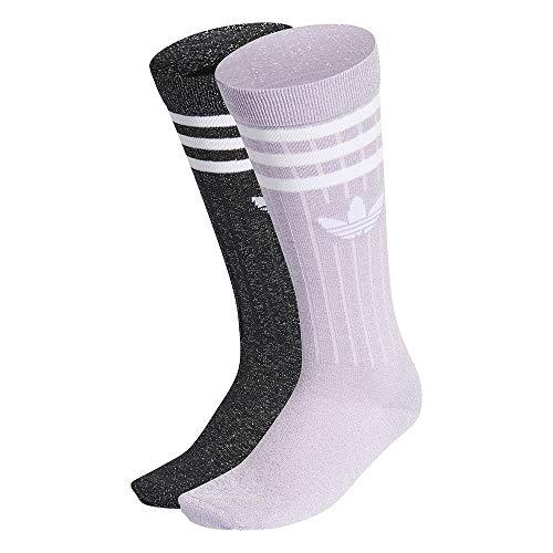 adidas GN3065 FULL GL CREW Socks womens purple tint/black S
