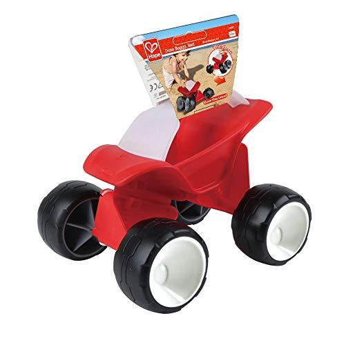 Hape E4086 - Dünen-Buggy, Strandspielzeug/Sandspielzeug, rot