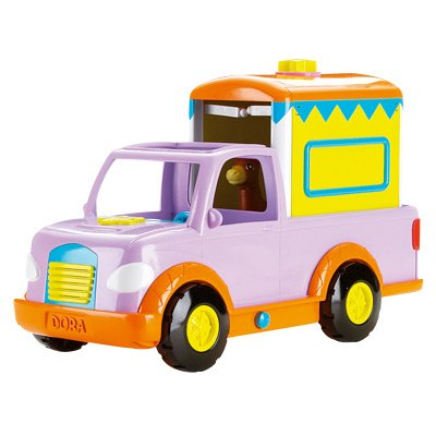 Mattel - Accessoire pour poupée - Jeep Dora Et Ses Poney