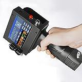 Impresora De Inyección De Tinta De Mano Portátil, Impresora De Mano Inalámbrica Inteligente Codificador De 600Dpi con Pantalla Táctil LED HD De 4,3 Pulgadas,Printer us