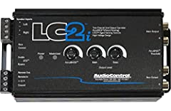 Two channels of Active Speaker Level Inputs Accept 400 Watt Signals per Channel Fixed and Variable Outputs with Discrete Level Controls AccuBASS Processing for Correction of Bass Roll-Off GTO Signal Sensing - Input For Optional Remote Level Control -...