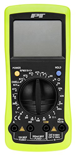 Performance Tool W2972 Digital Automotive Multimeter