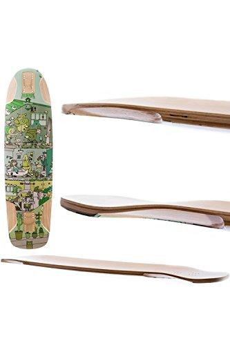Kebbek Skateboard Longboard Skate. Top Mount 36x9.5¨