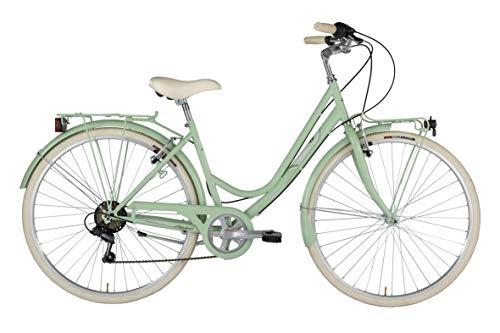 Alpina Bike Sharin 28', Bicicletta Donna, Verde Menta, 6v